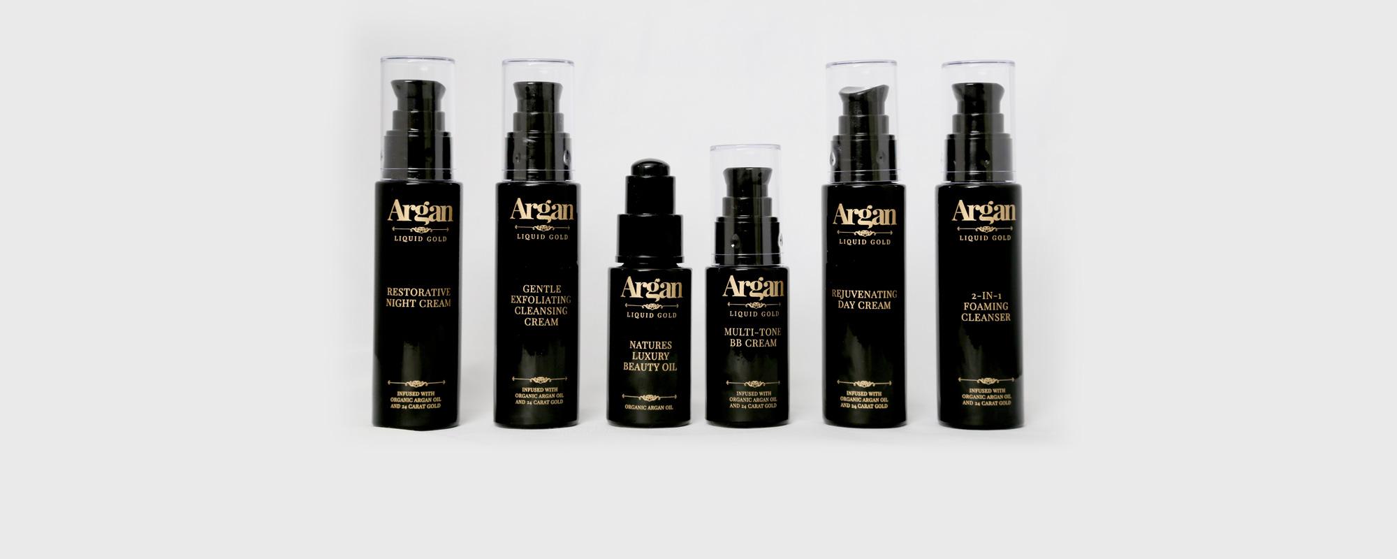 Argan Liquid Gold Full Skincare Range