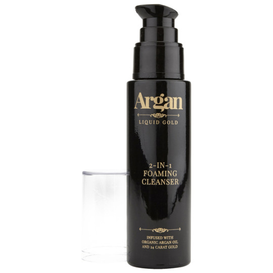Argan Liquid Gold 2 in 1 Foaming Cleanser