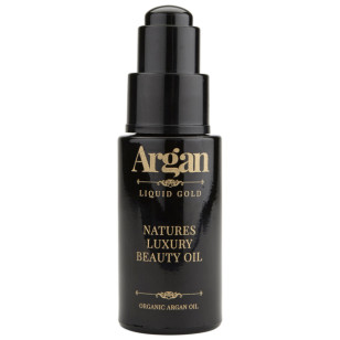 Argan Liquid Gold Natures Luxury Beauty Oil